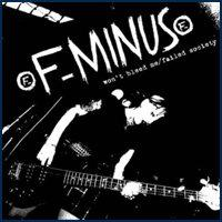 F-Minus - Won't Bleed Me / Failed Society (Cover Artwork)