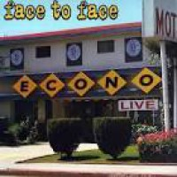 Face To Face - Econo Live [10-inch] (Cover Artwork)
