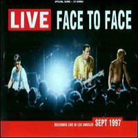 Face to Face - Live (Cover Artwork)