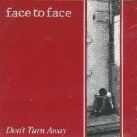 Face to Face - Don't Turn Away (Cover Artwork)