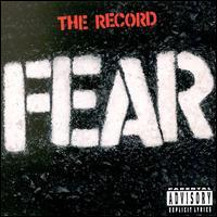 Fear - The Record (Cover Artwork)