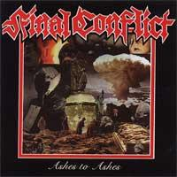 Final Conflict - Ashes to Ashes [reissue] (Cover Artwork)