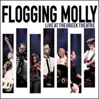 Flogging Molly - Live at the Greek Theatre (Cover Artwork)