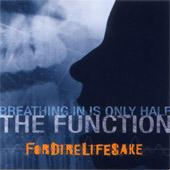 Fordirelifesake - Breathing In Is Only Half The Function (Cover Artwork)