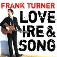 Frank Turner - Love, Ire and Song (Cover Artwork)
