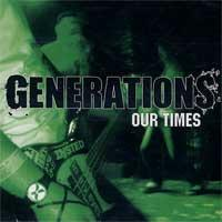 Generations - Our Times (Cover Artwork)