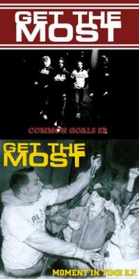 Get the Most - Common Goals / Moment in Time [7 inch] (Cover Artwork)