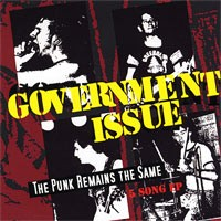 Government Issue - The Punk Remains the Same (Cover Artwork)