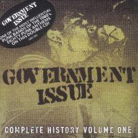 Government Issue - Complete History Volume 1 (Cover Artwork)