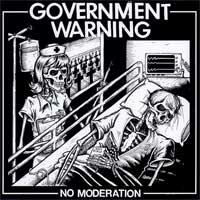 Government Warning - No Moderation (Cover Artwork)