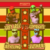 Grey Area / The Reveling / The Copyrights / Luther - 4-Way Split (Cover Artwork)