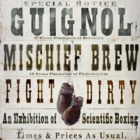 Guignol & Mischief Brew - Fight Dirty (Cover Artwork)