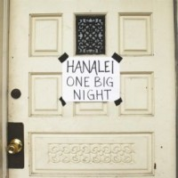 Hanalei - One Big Night (Cover Artwork)