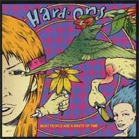 Hard-Ons - Most People Are a Waste of Time (Cover Artwork)