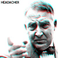 Headacher - Headacher [Flexi Disc] (Cover Artwork)