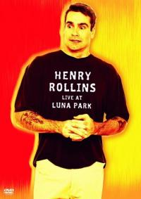 Henry Rollins - Live At Luna Park DVD (Cover Artwork)