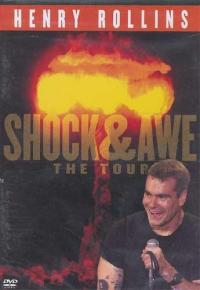Henry Rollins - Shock & Awe: The Tour DVD (Cover Artwork)