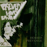 Horses / Prevenge - Split [7-inch] (Cover Artwork)