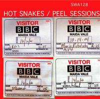Hot Snakes - Peel Sessions (Cover Artwork)
