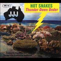 Hot Snakes - Thunder Down Under (Cover Artwork)
