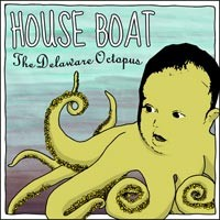 House Boat - The Delaware Octopus (Cover Artwork)