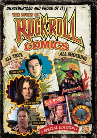 Ilko Davidov - The Story of Rock 'N' Roll Comics (Cover Artwork)