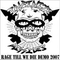 Infinite Missiles - Rage Till We Die: Demo 2007 (Cover Artwork)