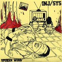 Injustice System - Spoken Word [7-inch] (Cover Artwork)