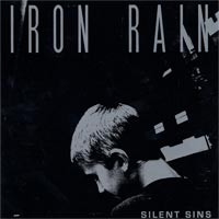 Iron Rain - Silent Sins [7 inch] (Cover Artwork)