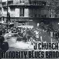 J Church / Minority Blues Band - Split [7 inch] (Cover Artwork)
