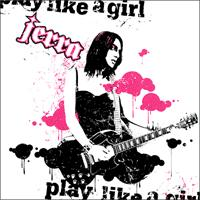 Jerra - Play Like a Girl (Cover Artwork)