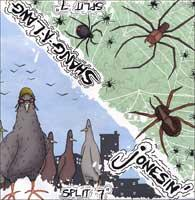 Jonesin' / Shang-a-Lang - Split [7 inch] (Cover Artwork)