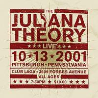 The Juliana Theory - Live 10.13.2001 (Cover Artwork)