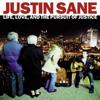 Justin Sane - Life, Love, and the Pursuit of Justice (Cover Artwork)