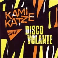 Kamikatze / Disco Volante - Split (Cover Artwork)