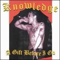 Knowledge - A Gift Before I Go (Cover Artwork)