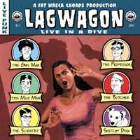 Lagwagon - Live In A Dive (Cover Artwork)