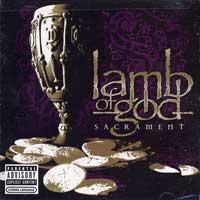 Lamb of God - Sacrament (Cover Artwork)