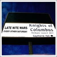 Late Nite Wars - Every Other Saturday [7 inch] (Cover Artwork)