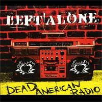 Left Alone - Dead American Radio (Cover Artwork)