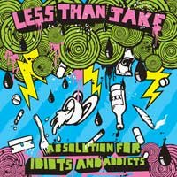Less Than Jake - Absolution for Idiots and Addicts (Cover Artwork)