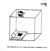Liars - They Threw Us All in a Trench and Stuck a Monument on Top (Cover Artwork)