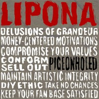 Lipona - Pigeonholed (Cover Artwork)