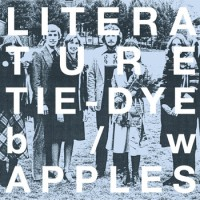 Literature - Tie-Dye b/w Apples [7-inch] (Cover Artwork)
