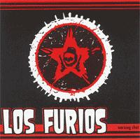 Los Furios - Warning Shot (Cover Artwork)