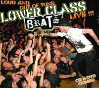 Lower Class Brats - Loud and Out of Tune: Live!!! [CD/DVD] (Cover Artwork)