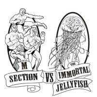 M Section - M Section Vs. The Immortal Jellyfish (Cover Artwork)
