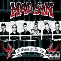 Mad Sin - 20 Years of Sin Sin (Cover Artwork)
