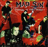 Mad Sin - Survival Of The Sickest (Cover Artwork)