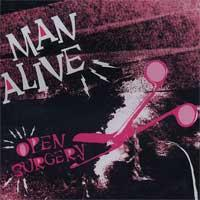 Man Alive - Open Surgery (Cover Artwork)